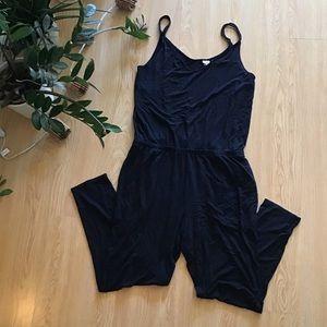 Gap black camisole jumpsuit size medium